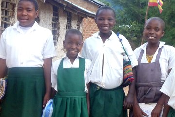 With 40$ we can buy the school uniform for a child